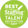 The Hype! Agency Wins Inavero's 2017 Best of Staffing® Talent Award