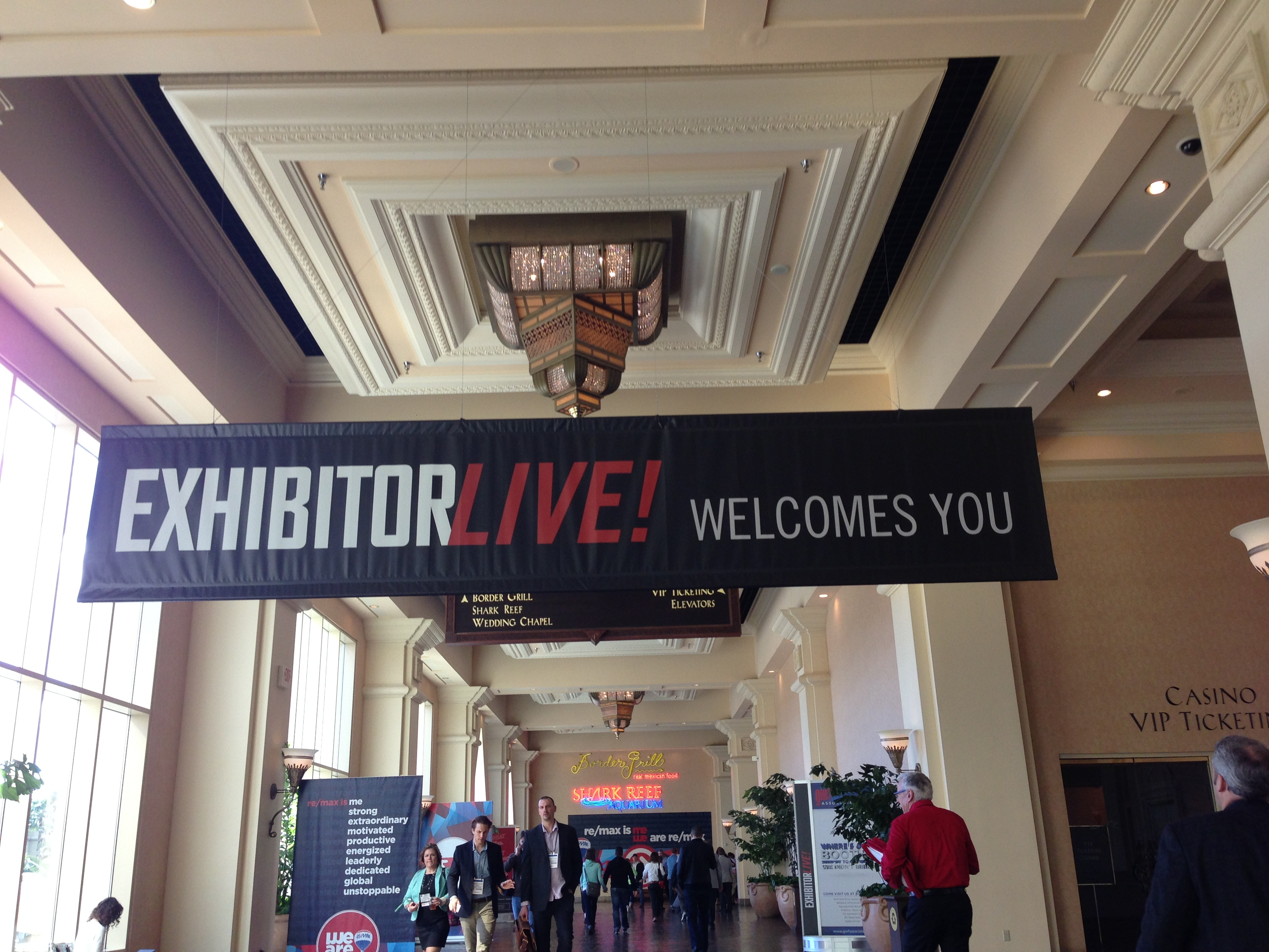 What happens at EXHIBITORLIVE 2015?